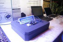 Algunos de los proyectos como el Medidor de Temperatura y Humedad utilizando Arduino, presentado en el stand del CITT.