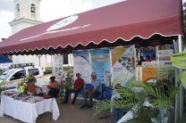 Vista general del Stand presentado por el CITT-UTP, en la Feria Agroindustrial en la Fundación del Distrito de Aguadulce