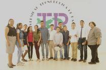 Grupo No. 2 de jovenes de 11 a 18 años de los curso de inglés Verano 2018 en Aguadulce
