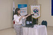 Licenciada Paola Franco de Programas Coordinadora de Innovación Empresarial de SENACYT.
