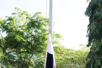 La UTP inicia el Año Académico con la izada del Pabellón Nacional.