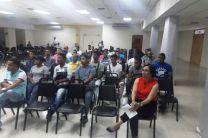 Asistentes a la capacitación ofrecida, por AES Panamá.