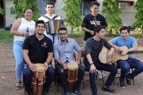 Presentación folklórica de grupo de estudiantes, Coordinados por la Licda. Gissel Vega, de la Unidad de Cultura y Deporte.