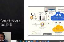 Licenciado Luis Velásquez y el tema Creación de Skill para Amazon Alexa.