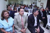 Autoridades, docentes, profesores, investigadores, estudiantes y administrativos, participan del Aniversario de la FCyT.