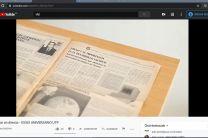 """""""Pinceladas de la historia de la UTP"""" se presentó en un vídeo."""