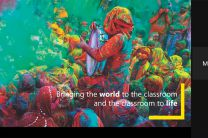 Bringing the World to the classroom and the classroom to life.
