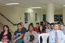 Autoridades, docentes y estudiantes participantes