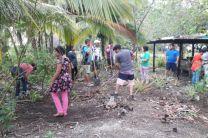 UTP Bocas del Toro ofrece apoyo y orientación ecológica a la comunidad de San San.