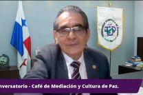 Rector de la UTP, Ing. Héctor M. Montemayor, inaugura Café de Mediación.