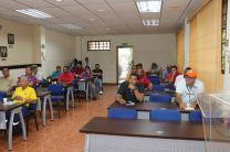 La capacitación fue para los Conductores y Electricistas de cada Centro Regional.