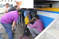 Las prácticas se realizaron en la Unidad Móvil de Capacitación en TIC.