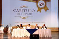 Autoridades de la Universidad Tecnológica de Panamá.