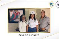 Estudiante Nathalee Samudio, de la Facultad de Ingeniería Industrial.