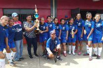 Ganadoras del Primer Lugar Femenino, Centro Regional de Veraguas.