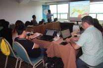 Participaron coordinadores de los ocho países que realizaron el proyecto.