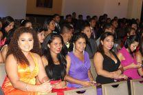 Los estudiantes de la FII participaron en clausura del Congreso.