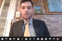 Coordinador del evento, profesor Jovanny Díaz.