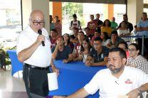 Los docentes de la Facultad involucrados en el Concurso.