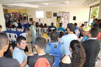 El concurso atrae la atención de los estudiantes.