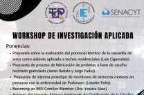 Workshop de Investigación Aplicada.
