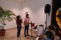 Estudiantes Adriana Valdes e Israel Perea del Centro Regional de Coclé