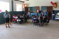 Niños del comedor infantil Fundación Un Nuevo Amanecer