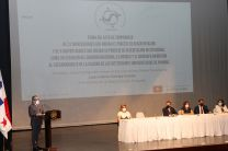 Rector de la UTP, Ing. Héctor M. Montemayor Ábrego.