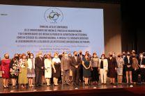 Rectores de las 22 Universidades de Panamá participaron en la Firma del Acta de Compromiso.