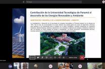Contribución de la UTP al desarrollo de las energías renovables y ambiente.