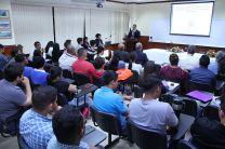Las dos conferencias se dieron como parte de la Semana de la Ingeniería Civil.