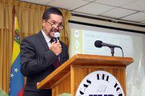 Dr. Alexis Tejedor, Vicerrector de Investigación, Postgrado y Extensión.