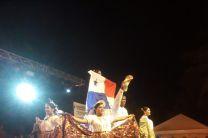 Apertura del IV Festival Nacional e Internacional de Danzas Folklóricas Ibsen Díaz, Rio Frio.