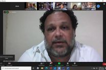Prof. Héctor Collado, moderador.