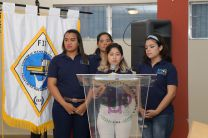 Karen Cogley, Estudiante Coordinadora General del Congreso en Veraguas.