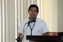 Ing. Alexander González , investigador expositor del CIHH ofrece sus comentarios.
