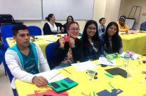 Estudiantes de la UTP participan en los talleres del Proyecto de Innovación y Emprendimiento.