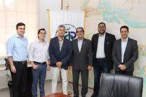 Los profesores franceses, el Ing. Montemayor y docentes de la UTP.