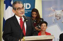 El Ing. Héctor M. Montemayor A., Rector de la Universidad Tecnológica de Panamá, dio su mensaje de inauguración.