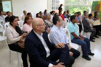 """Autoridades y directivos de la UTP; así como representantes de SENACYT, Meduca y organizaciones, participaron en la clausura del proyecto """"Taller Creativo Juvenil""""."""