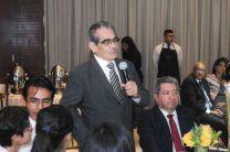 El Ing. Héctor M. Montemayor A., participa en el encuentro.