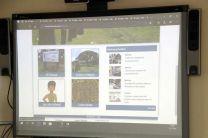 Dra. Elba Valderrama, presentó el proyecto Creación de material Digital Multimedia para Museos.
