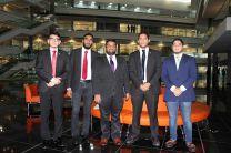 Miembros del Centro de Estudiantes de la UTP hicieron Lobby en la Asamblea Nacional, en busca de cortesía de sala.