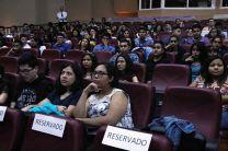 Participación estudiantil durante la inauguración del Congreso.