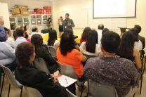 Estudiantes y docentes de universidades del Perú, reciben charla ofrecida por el Dr. Práxedes.  Torres.