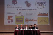 Participantes de la Mesa principal durante el Congreso de Ingeniería Mecánica.