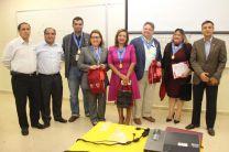 Representantes de las universidades peruanas y autoridades y docentes de la FII.