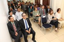 Con la asistencia de Autoridades de la UTP, los Exvicerrectores e  invitados especiales, se procedió a la develación de la galería de Vicerrectores.