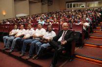 Comunidad universitaria de la Facultad de ingeniería Civil estuvo presente en la clausura de la XXX Semana de la Ingeniería Civil.