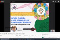 """Conferencia virtual: Desing Thinking """"Para desarrollar habilidades blandas."""
